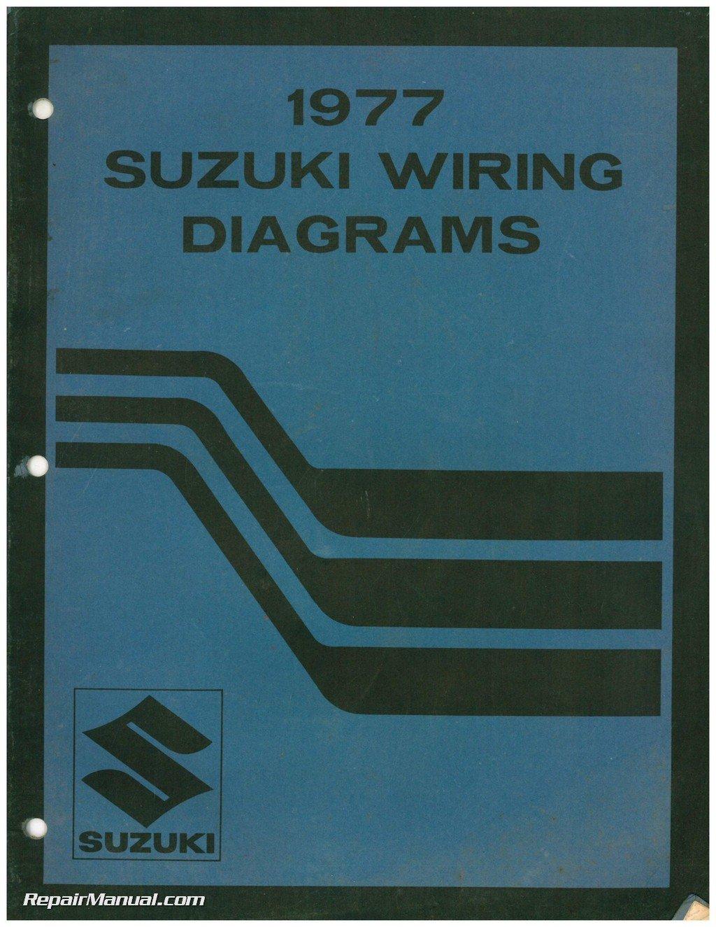 SUZ-1977-WIRING 1977 Suzuki Wiring Diagram Manual - Troubleshooting Info:  Manufacturer: Amazon.com: Books