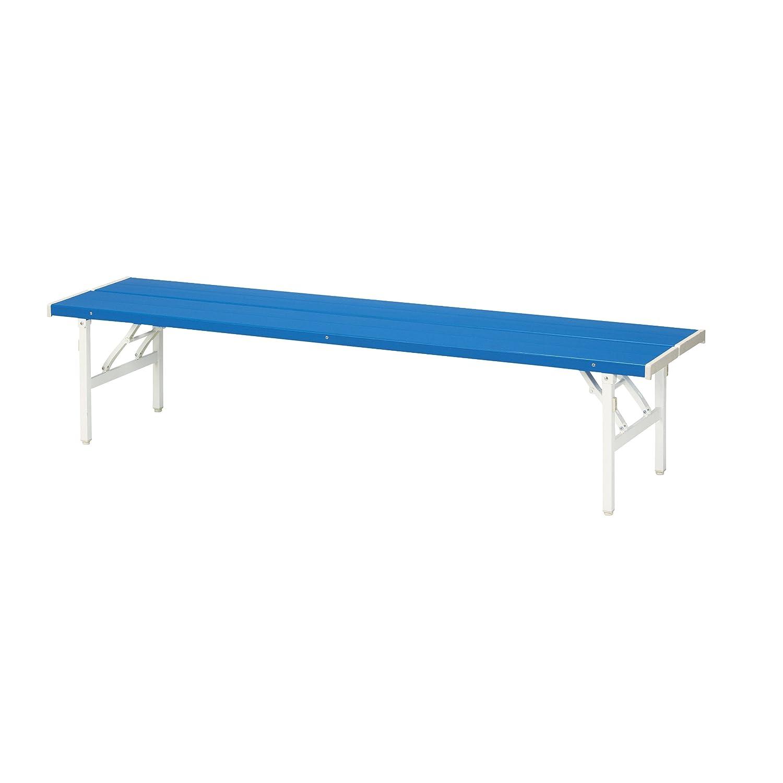 弘益 KOEKI バネ脚折り畳みカラーベンチ ブルー FB-4S(BL) B00HT06PSK 16400