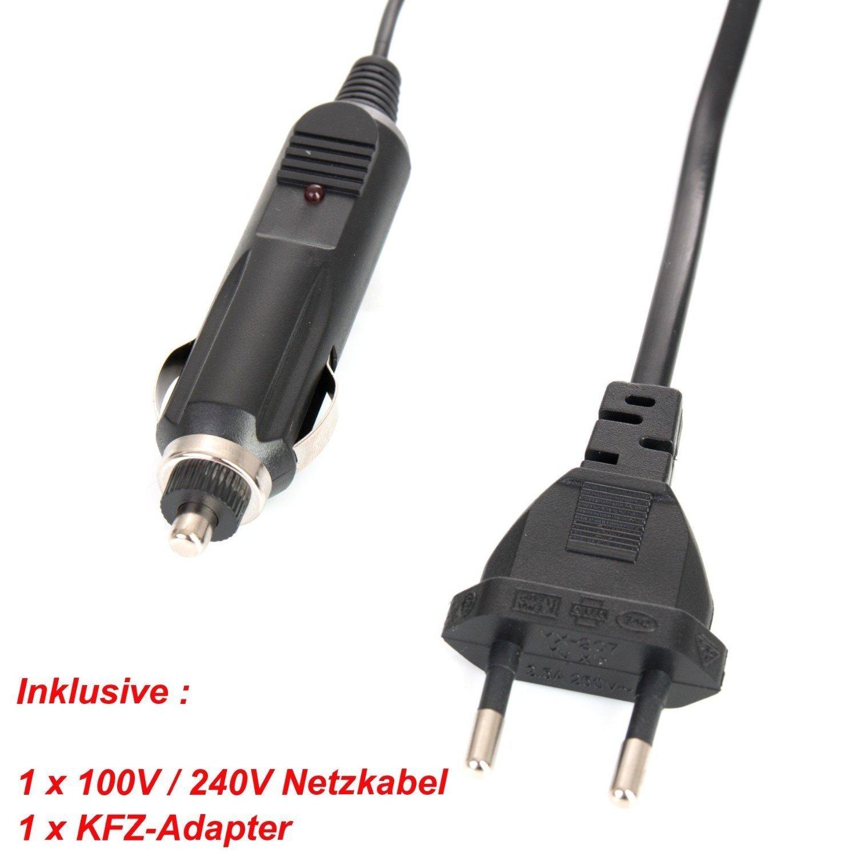 Baxxtar USB Doppio//Dual caricabatterie TWIN PORT 1817 per la batteria Canon LP-E17 a Canon EOS 77D 200D 250D 750D 760D 800D M3 M5 M6 I II RP etc.