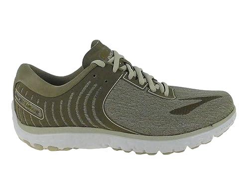 a48f1663d11 Brooks Women s PureFlow 6 Roasted Cashew Crocodile Gold Nylon Running Shoes  10 M US  Amazon.in  Shoes   Handbags