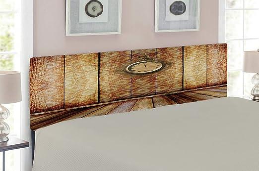 Amazon Com Ambesonne Victorian Headboard Antique Clock On