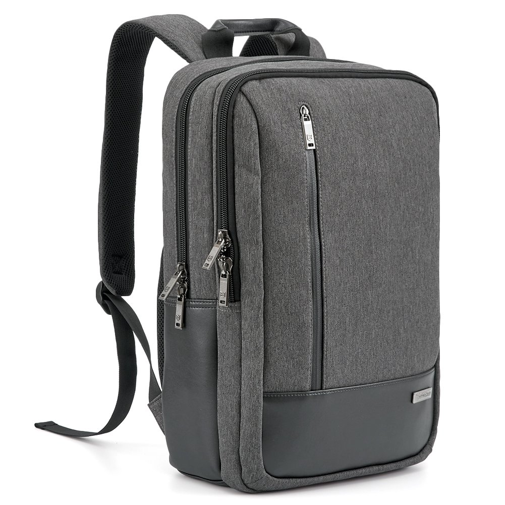 Laptop Backpack Evecase 17.3 inch Modern Business School Laptop Backpack with Accessory Pockets For Apple Macbook Air/Pro, Samsung Chromebook, HP, Dell, Sony, Toshiba Ultrabook 885157839051