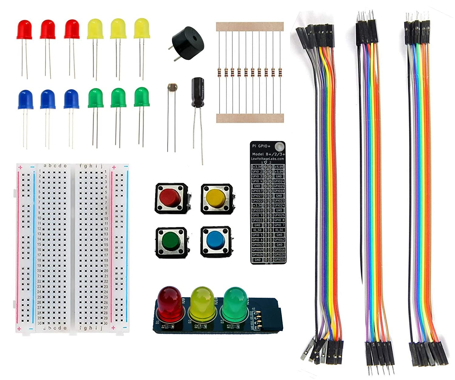 Amazon com: Low Voltage Labs - Pi Parts Pack, for The