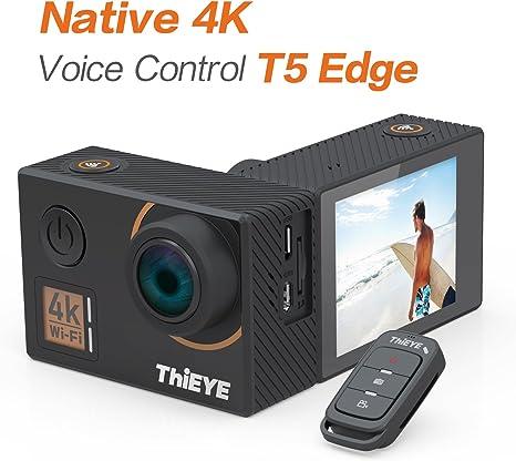 ThiEYE T5 Edge cámara de acción 4K Ultra HD 14MP WiFi Cámara ...
