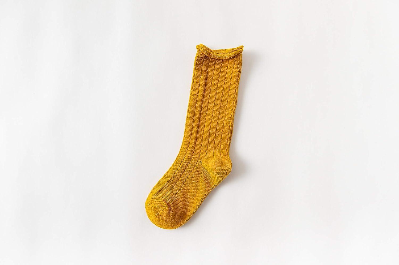 Lanzom Unisex Baby Girl Boy Cute Stripe Stocking Knit Knee High Cotton Socks