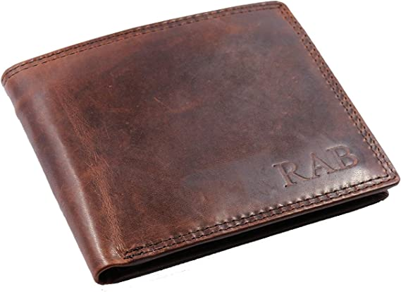 Men/'s Personalised Italian Leather Coin Purse or Coin Holder