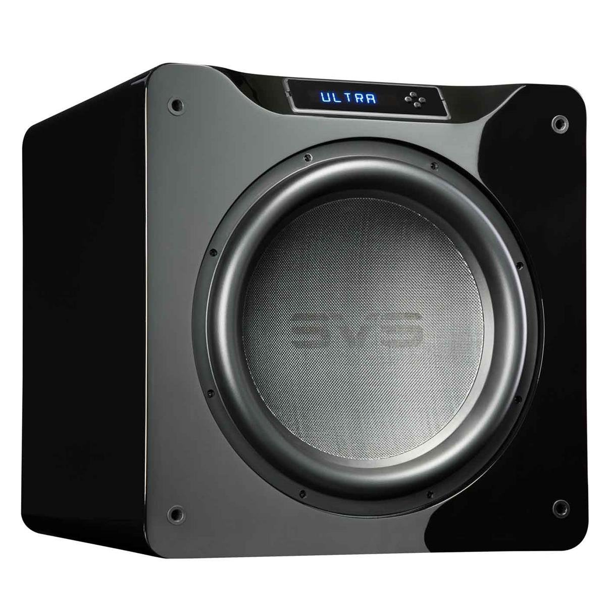 SVS SB16-Ultra 1500 Watt DSP Controlled 16'' Subwoofer (Piano Gloss Black) by SVS