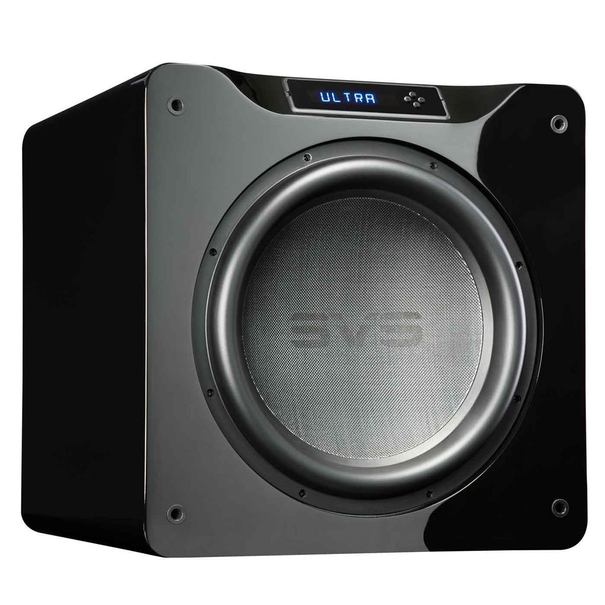 SVS SB16-Ultra 1500 Watt DSP Controlled 16'' Subwoofer (Piano Gloss Black)