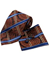 YAC1F03 Fashion Multi-colored Checkered Excellent Gift Silk Tie 3PT By Y&G