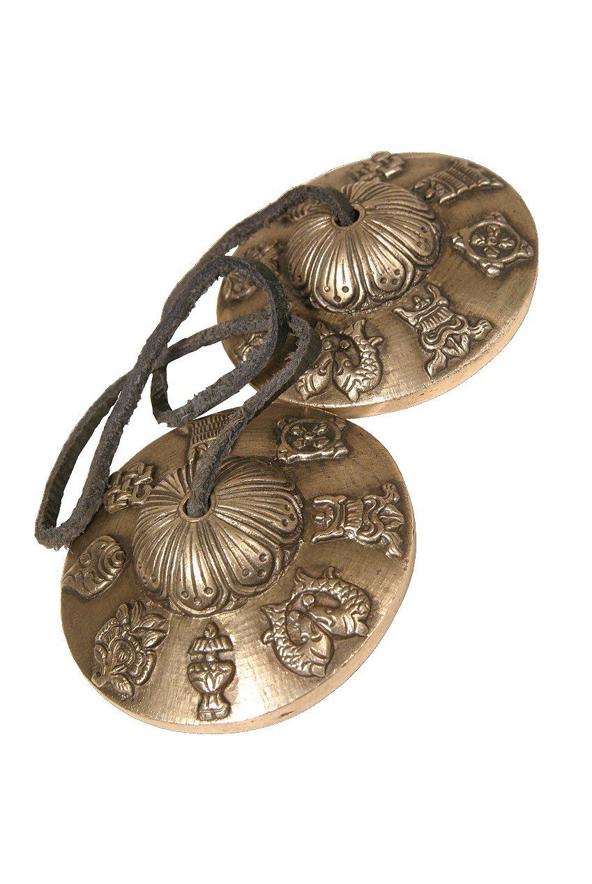 DOBANI Timsha Bell, 3.00-Inch, Symbols by Mid-East
