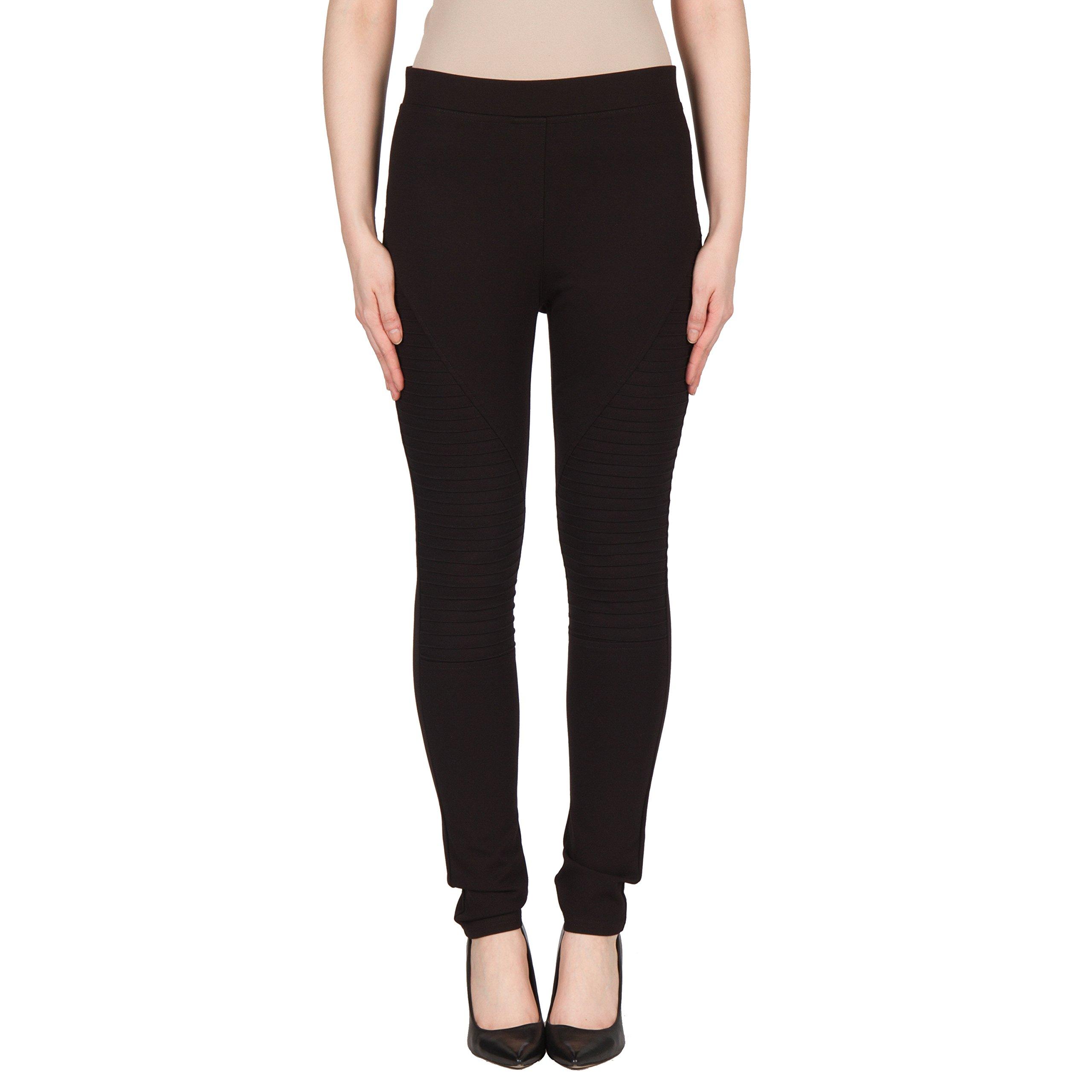 Joseph Ribkoff Athletic Style Black Legging - Style 173302 - Size 6