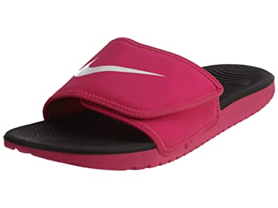 7fb0cb80b Nike Kawa Adjust Slide (Kids) Pink