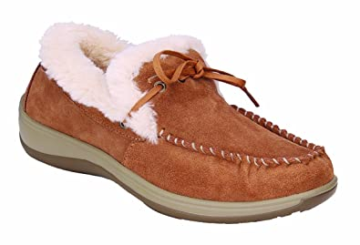 7a89f1718b9 Orthofeet Comfortable Plantar Fasciitis Capri Womens Orthopedic Diabetic Flat  Feet Womens Leather Moccasins Camel