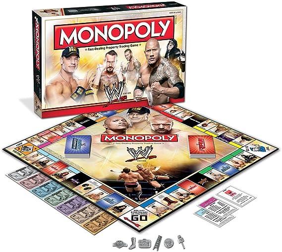 Monopoly: Wwe Edition: USAopoly: Amazon.es: Juguetes y juegos