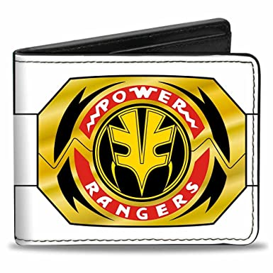 Amazon Com Buckle Down Men S Wallet Power Rangers White Ranger
