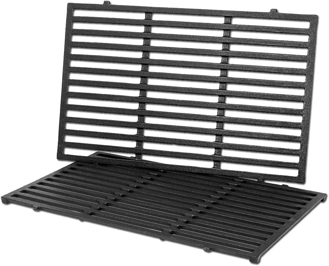 Utheer 17.5 Inch 7638 Cooking Grid Grates for Weber Spirit 300 310, Spirit 700, Spirit E/S-310, E/S-320, E/S-330, Weber 900, Genesis Silver Gold Platinum B C, Grills Replacement Parts for Weber 7639