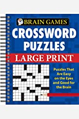 Crossword Puzzles (Brain Games (Unnumbered)) Spiral-bound