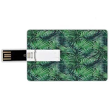 8GB Forma de Tarjeta de crédito de Unidades Flash USB Hoja ...