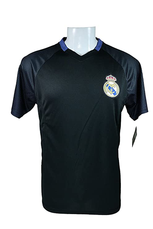 Real Madrid C.F. Soccer Official Adult Soccer Training Performance Poly  Jersey -J020 Large edb38988d