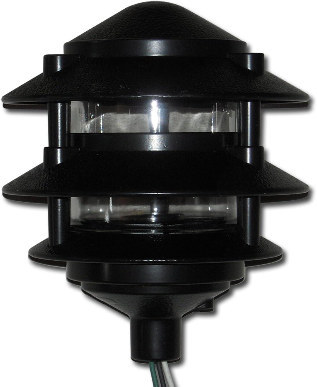 Greenfield PL3TBL Made in USA 3-Tier Black Pathlight, Three