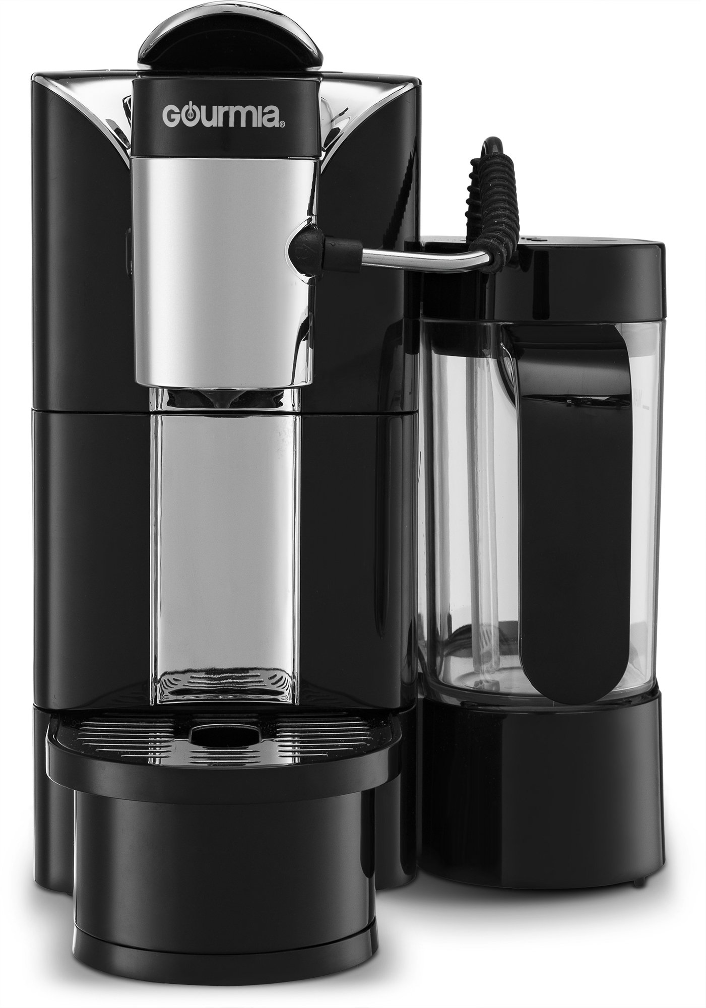 Gourmia GCM5500 - One Touch Automatic Espresso Cappuccino & Latte Maker Coffee Machine - Brew, Froth Milk, and Mix Into Cup with the Push of One Button- Nespresso Compatible by Gourmia (Image #4)
