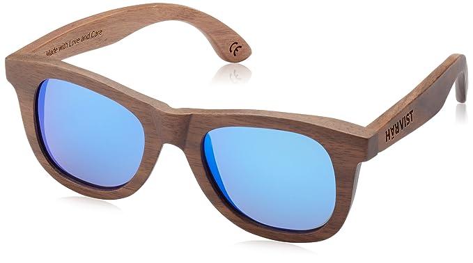 HÄRVIST, Waywood - Gafas de sol de madera, unisex, color nogal