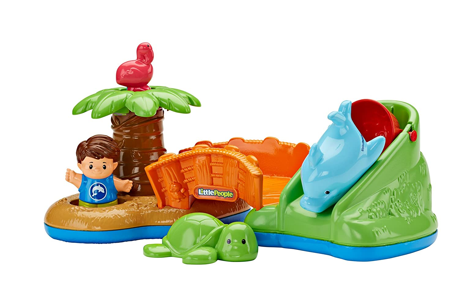 Fisher-Price Little People Spill 'n Surprise Island DFN28