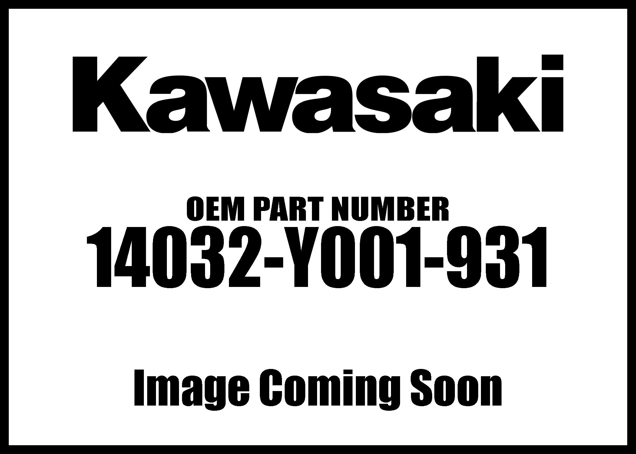 Kawasaki 2007-2017 Kfx50 Clutch Black Cover 14032-Y001-931 New Oem
