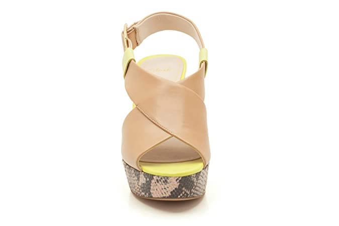 907eab2ff40 Clarks Womens Smart Clarks Scotch Glow Leather Sandals In Natural Combi  Wide Fit Size 4.5  Amazon.co.uk  Shoes   Bags