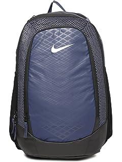 c9bc95e342 Nike 25 Ltrs Thunder Blue Black Metallic Silver Casual Backpack (BA5474-471