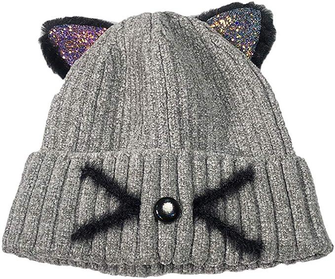 Damenhut winter hat hut strickmütze ponytail mützen cap hüte