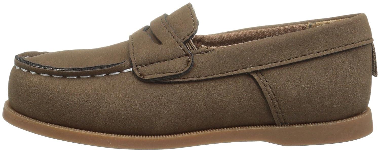 Carters Kids Boys Simon4 Slip-on Boat Shoe Loafer
