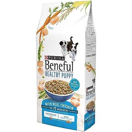 Amazoncom Purina Beneful Healthy Puppy Dog Food 35 Lb Bag With