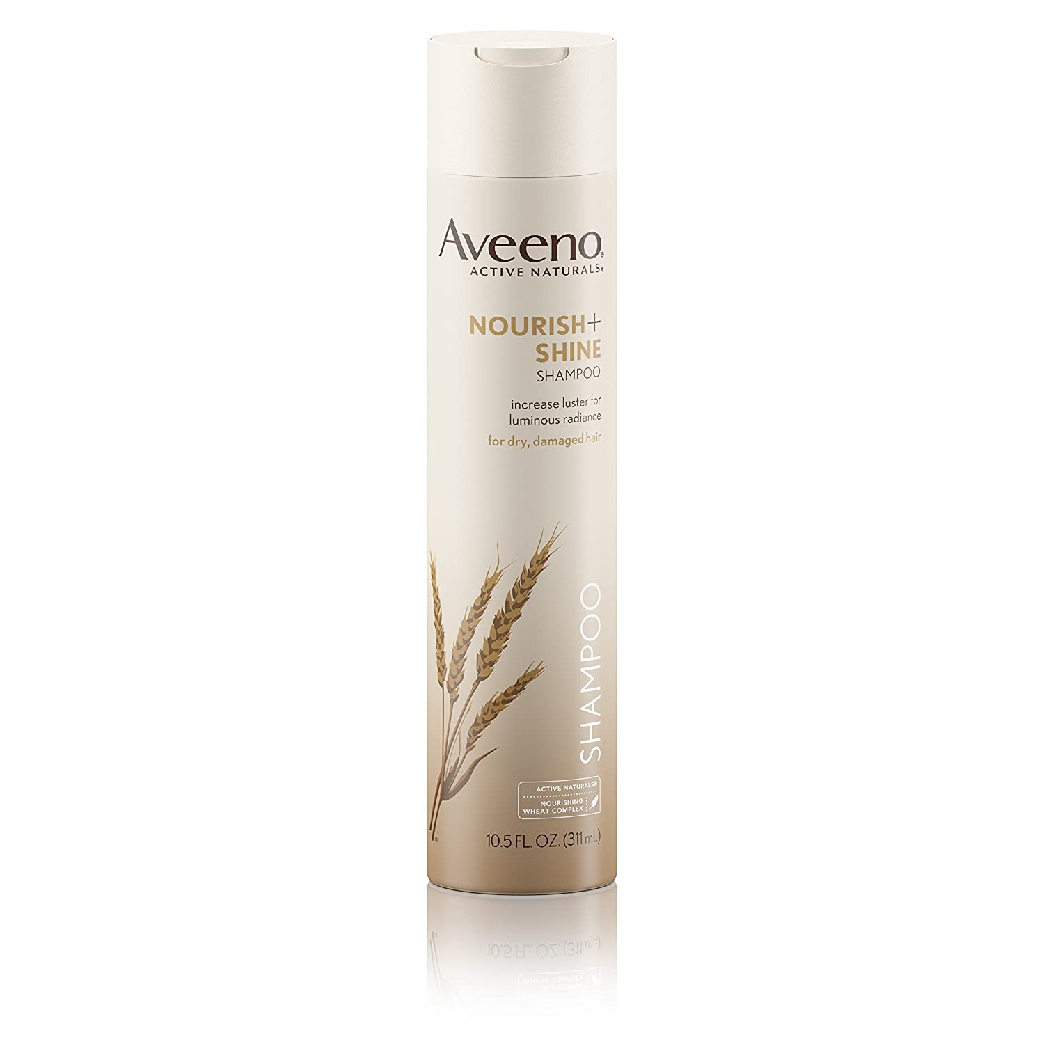 Aveeno Nourish+ Shine Illuminating Shampoo For Shiny Hair, 10.5 fl. oz