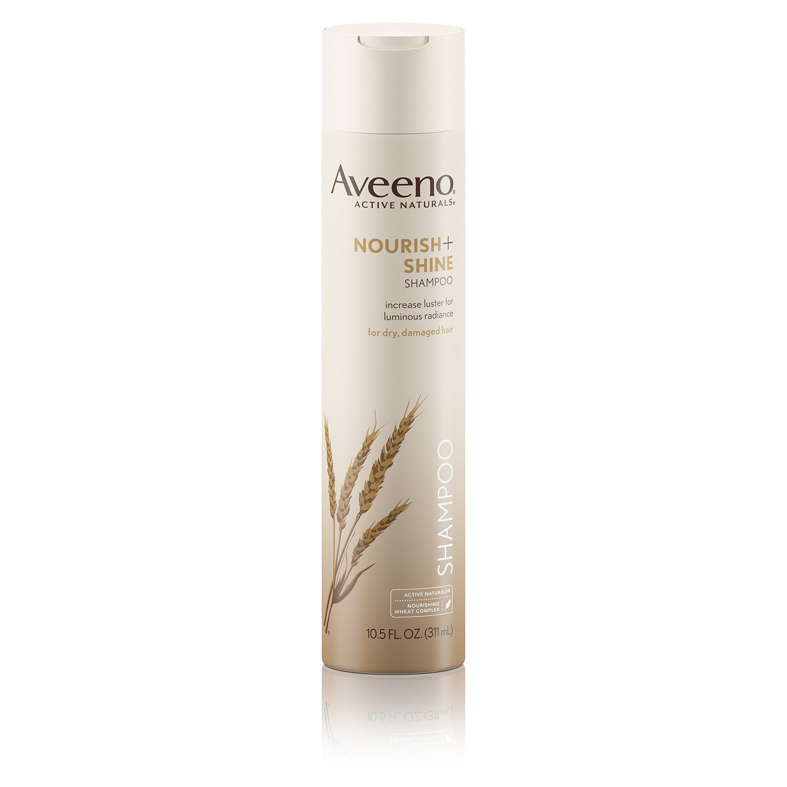 Aveeno Nourish+ Shine Illuminating Shampoo For Shiny Hair, 10.5 Fl. Oz, (Pack of 3)