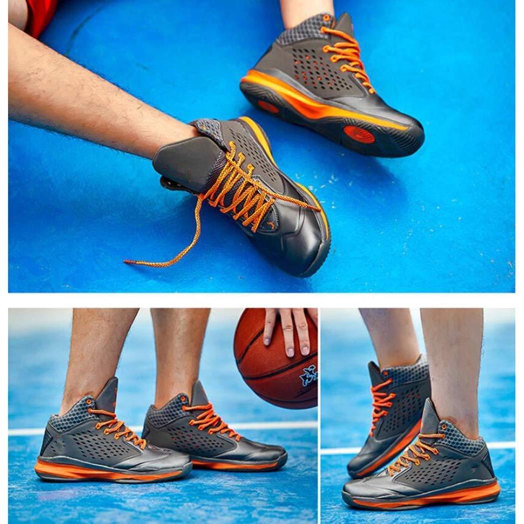 LXYU-schuhe Outdoor Sports Jugend Basketball Schuhe Männer Männer Männer Hohe Herren Sportschuhe Herrenschuhe Mittelschüler High Wear Tragen Atmungsaktive Schuhe Herbst Stiefel 5ec81f