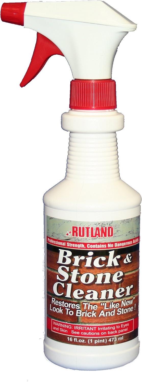 Rutland Products, 16 fl oz Brick & Stone Cleaner, Fl.Oz, Clear