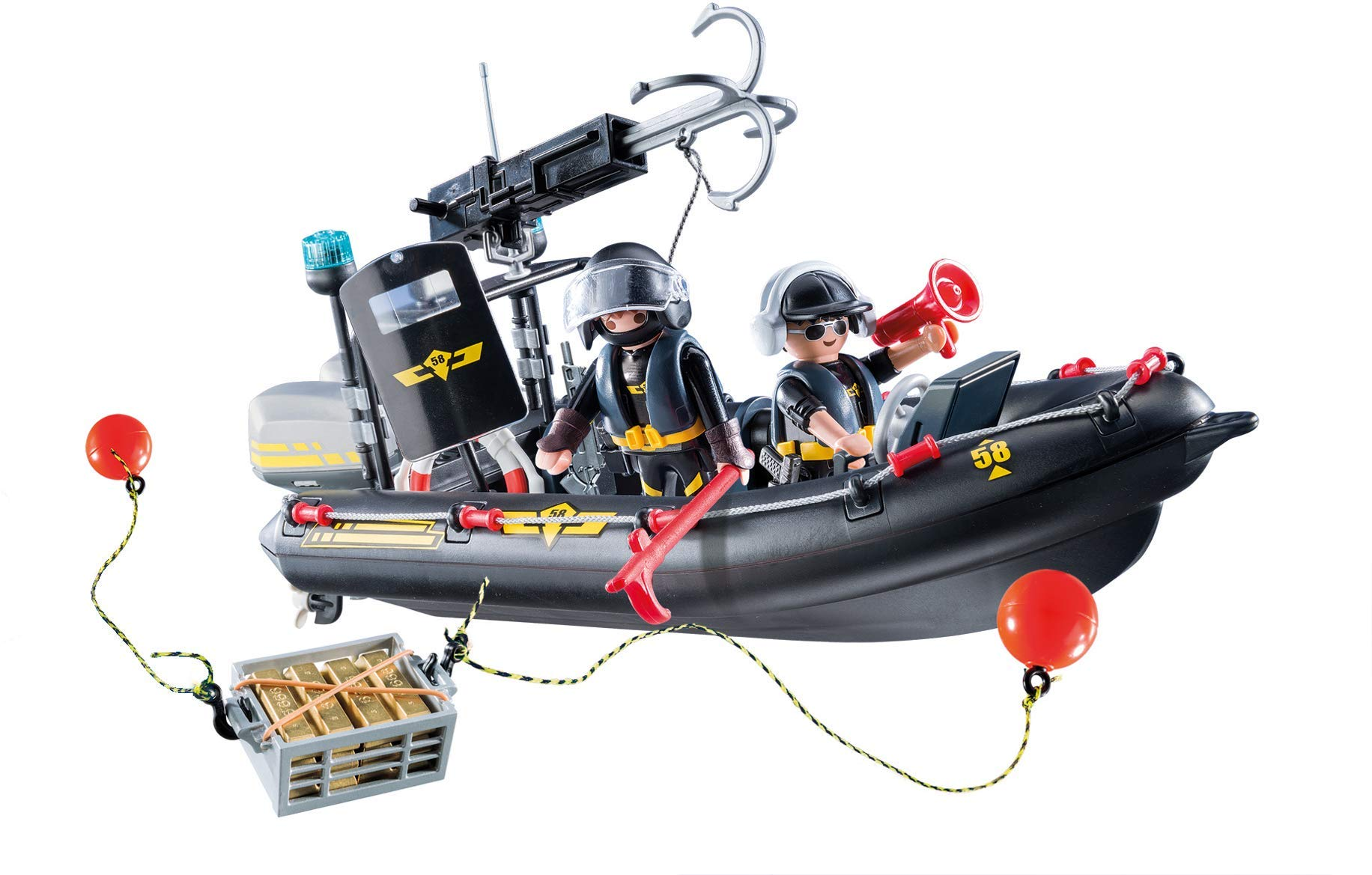 PLAYMOBIL® Tactical Unit Boat by PLAYMOBIL® (Image #3)