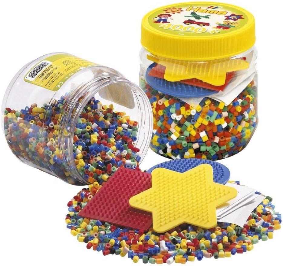 HAMA BEADS 2052 Kit de Mosaico - Kits de Mosaico (Multicolor, 4000 Pieza(s))