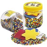 Hama Beads 4,000 Beads and Pegboard Tub