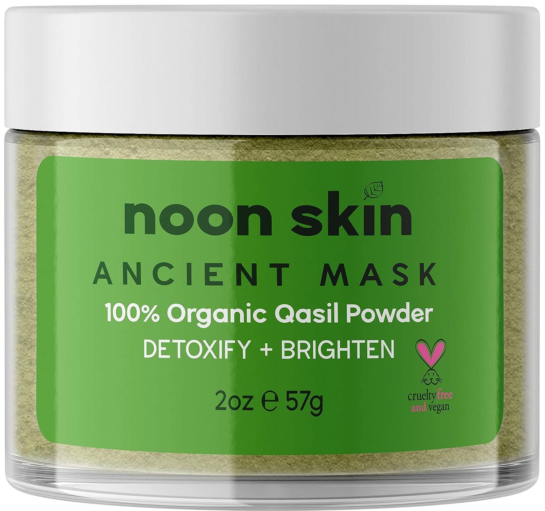 Noon Skin | Somali Qasil Powder | Deep Cleansing Face Mask | Detoxify + Brighten | 2oz