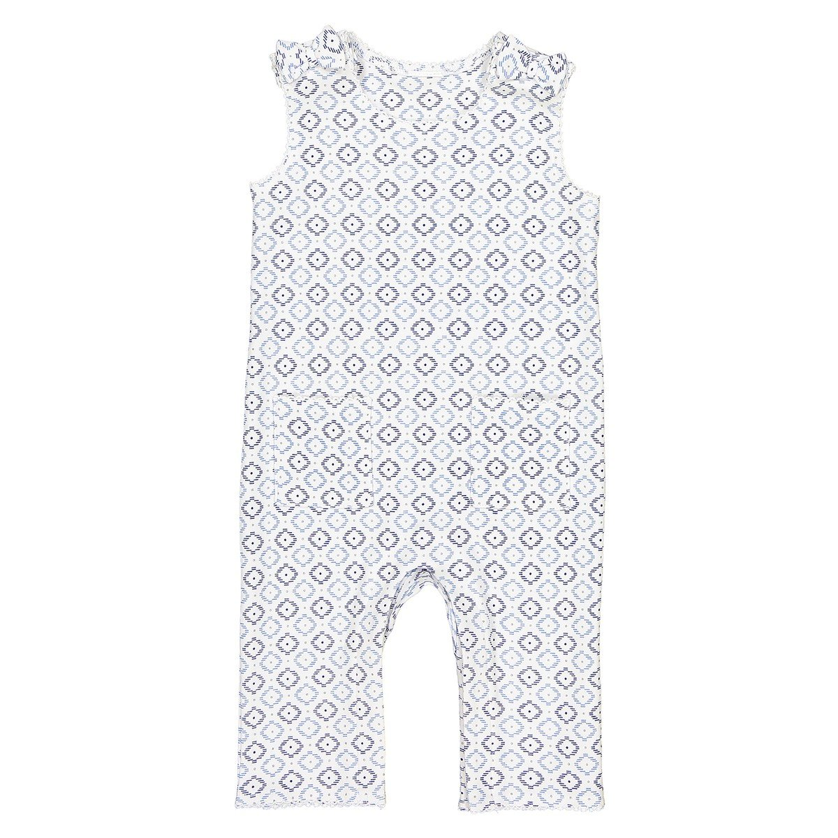 La Redoute Collections Big Girls Printed All-in-One Birth-3 Years