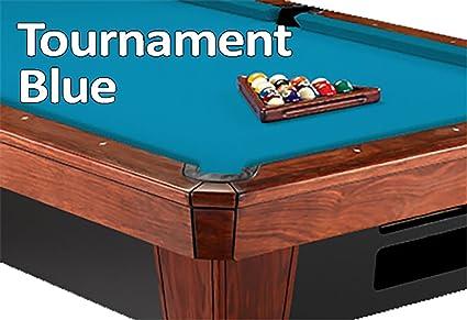 Simonis Tournament Blue Billiard Cloth  8 Foot Cut