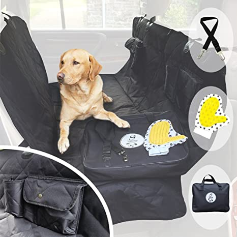 pet car seat cover for dogs   heavy duty luxury rear seat hammock protector   waterproof amazon     pet car seat cover for dogs   heavy duty luxury rear      rh   amazon