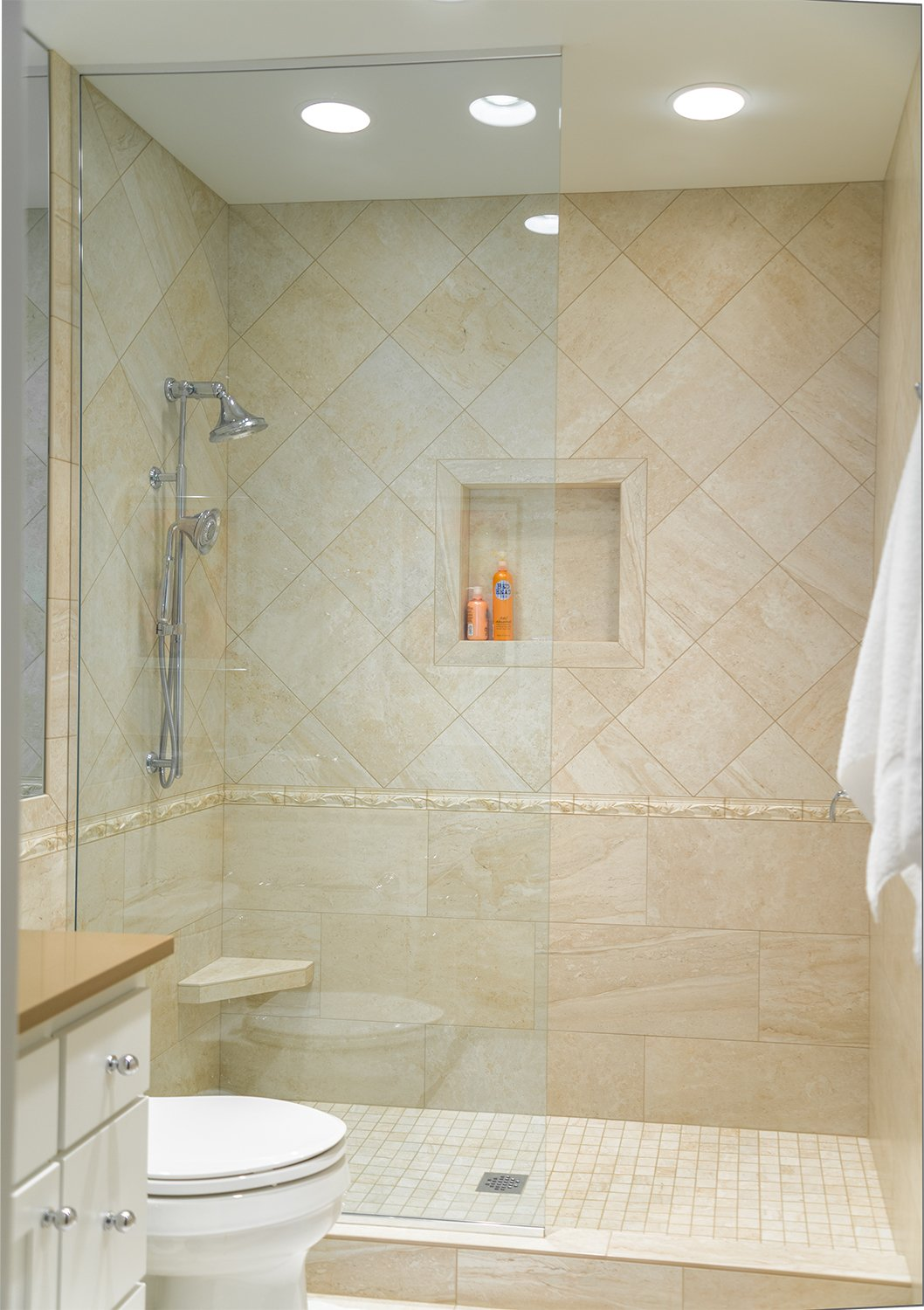 Amazon.com: Shower Niche 12x12 Recessed Tile Ready Bathroom Soap ...