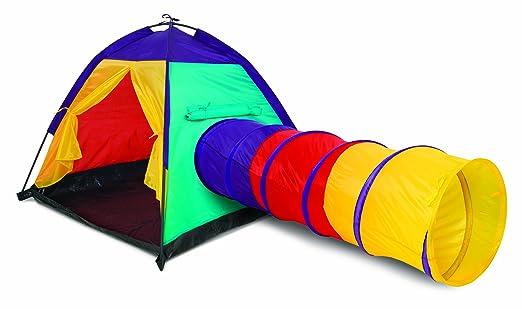 8033908964503 Multicolore Tunnel e Casetta Tenda da Gioco con Palline BAKAJI Igloo per Bambini con 200