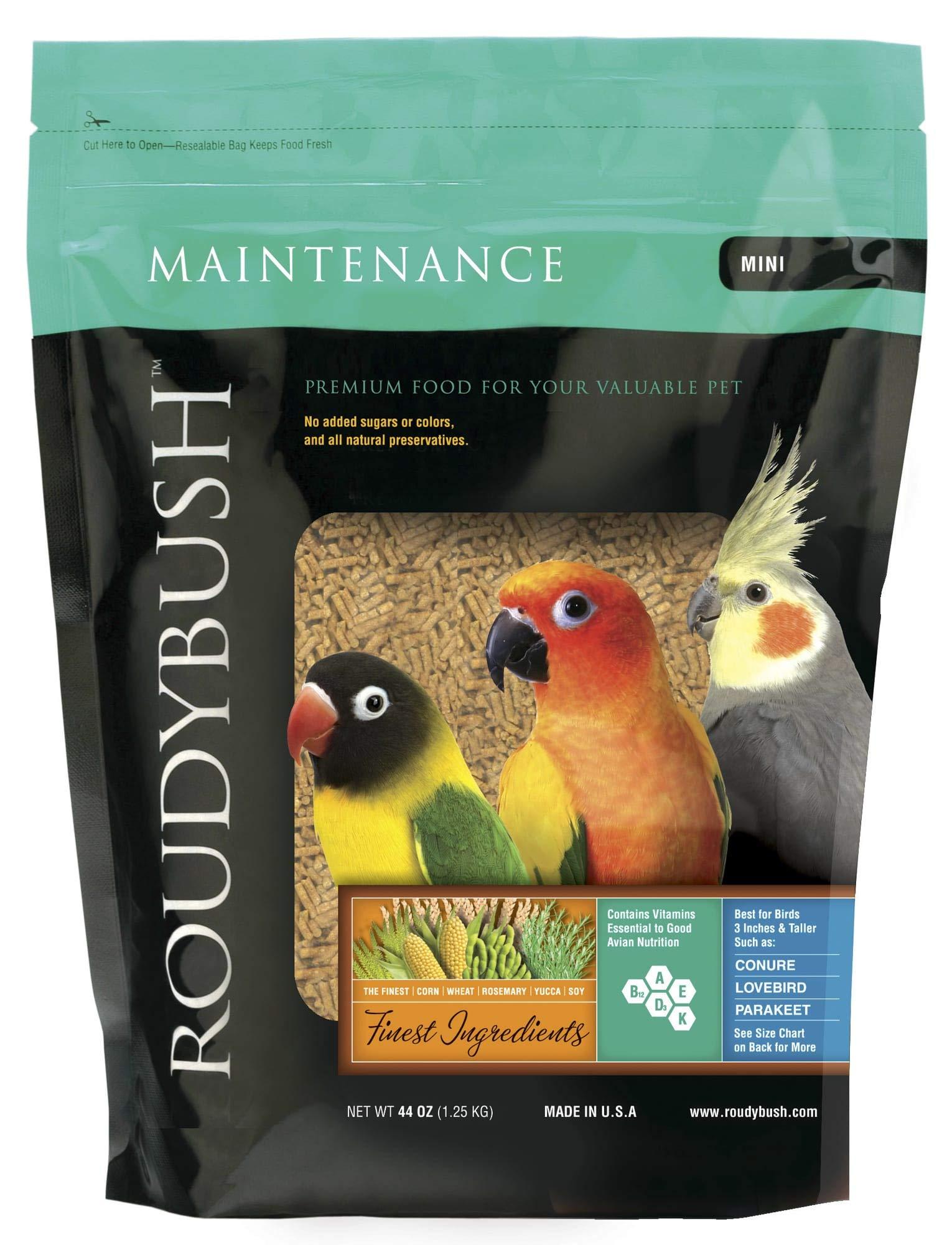 RoudyBush Daily Maintenance, Mini Pellets