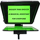 CANALHOUT 15' Universal Teleprompter, Suitable All Tablets/iPad, Video Camera/DSLR Teleprompter, Pre-Assembled, 70/30…