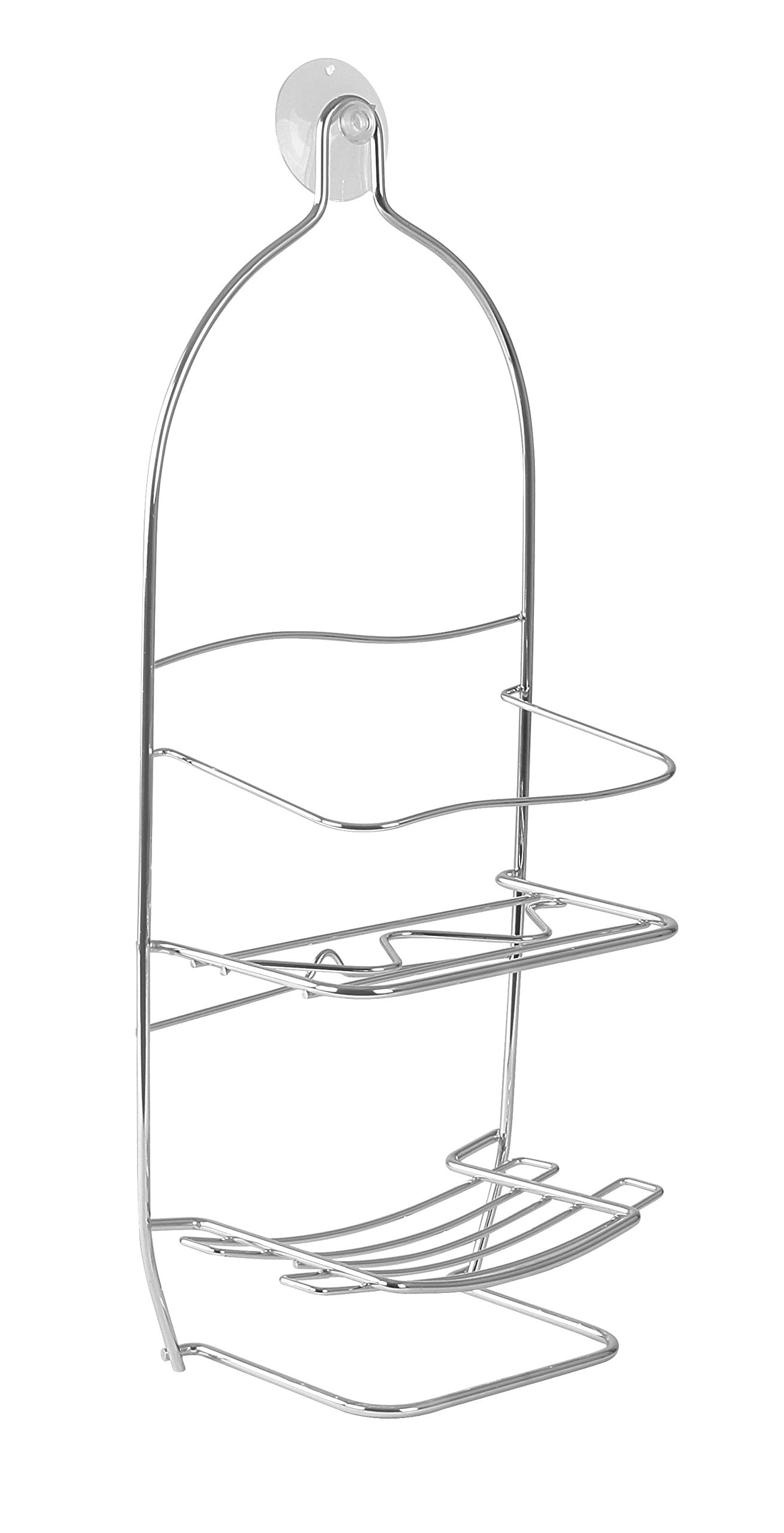 Spectrum Diversified Shower Caddy, Large, Chrome