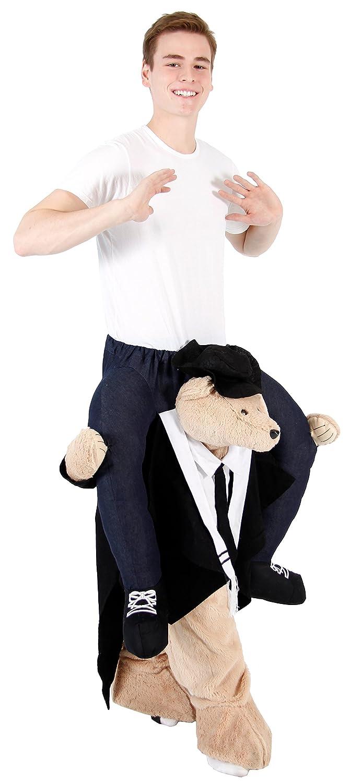 Amazon.com: Piggyback Disfraz para adulto con montura en los ...